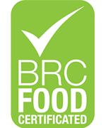 BRC food certificated logo