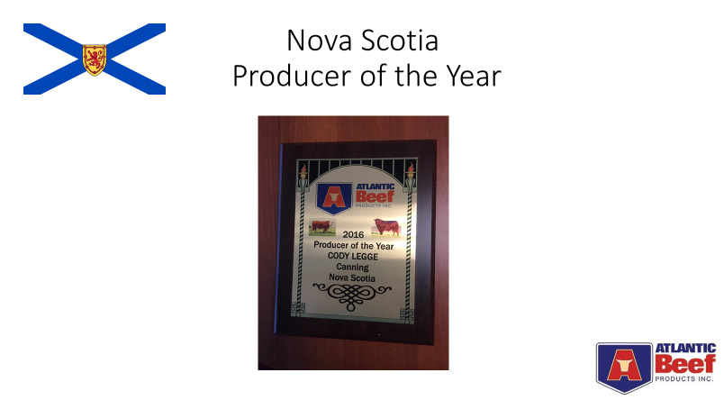 Nova Scotia Beef Producer of the Year