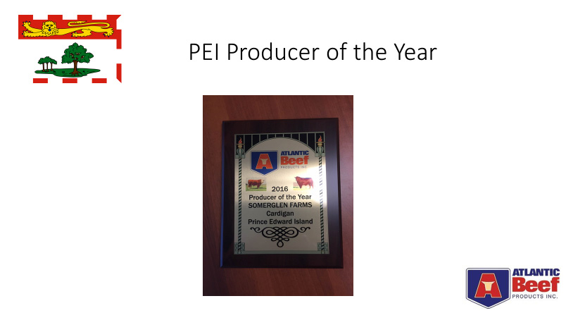 PEI Beef Producer of the Year