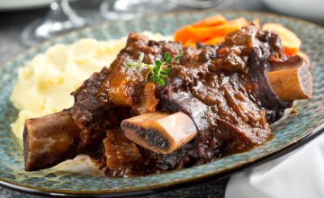 Osso Bucco Style Beef Short Ribs