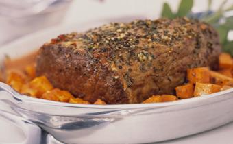 Rush-Hour Roast Beef Dinner