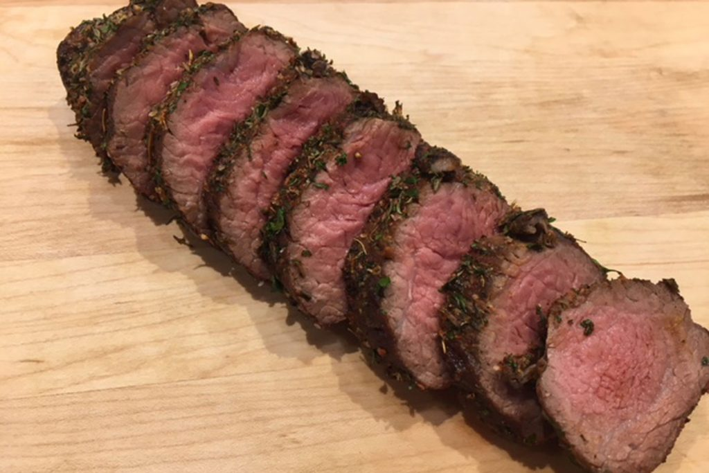 Herb Crusted Beef Petite Tender Atlantic Beef Products