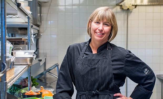 Chef Emily McKeown